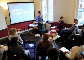 Rencontres collectives ; soutien à l'entrepreneuriat au féminin